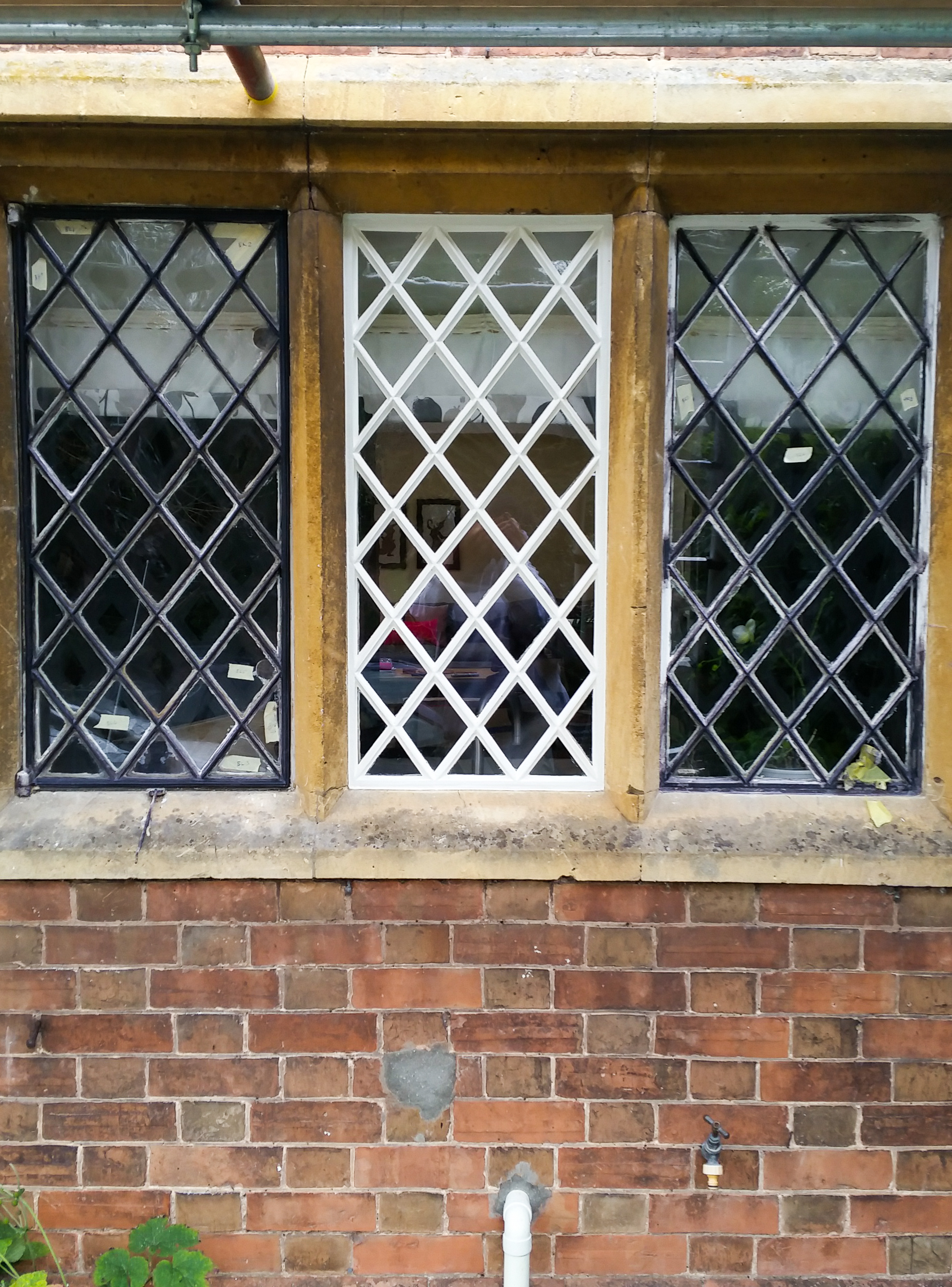 patience and detail victorian cast iron lattice windows